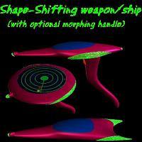 Shape Shifting Weapon  edhoover