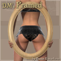 DMs Framed 3D Figure Assets 3D Models DM