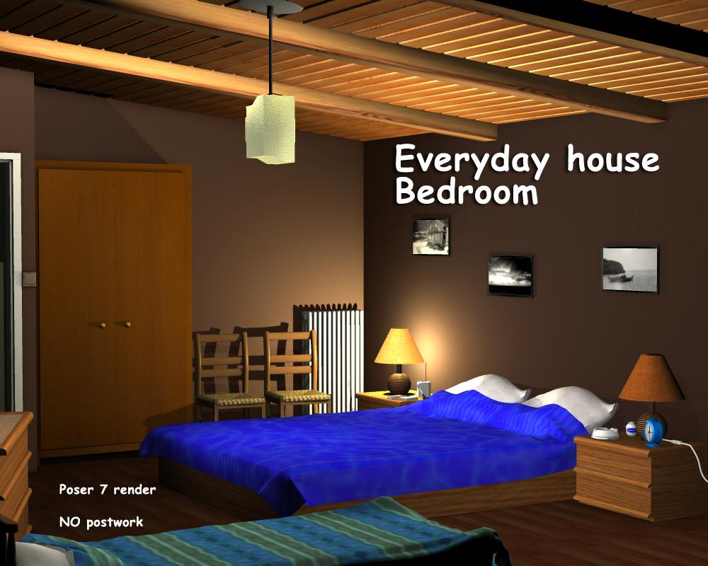 Everyday house - Bedroom