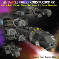 Battle Cruiser Construction Kit (A)  Simon-3D