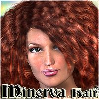 Minerva Hair 3D Figure Essentials Mairy