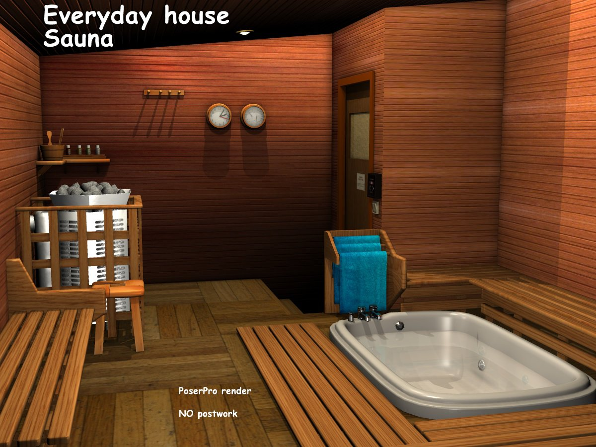 Everyday house - Sauna