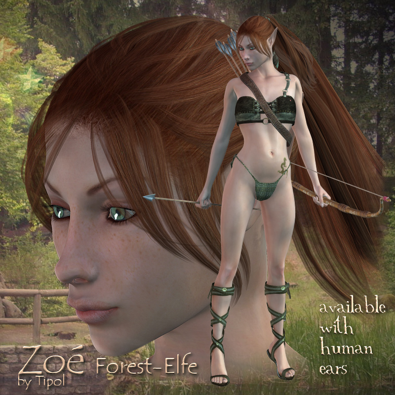 Zoe Forest Elfe by Tipol