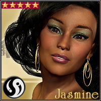 Jasmine V4 3D Figure Essentials CJ-studio
