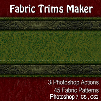Fabric Trims Maker 2D Graphics designfera