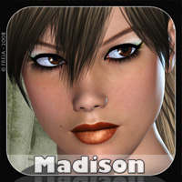 FR-Madison 3D Figure Assets Freja