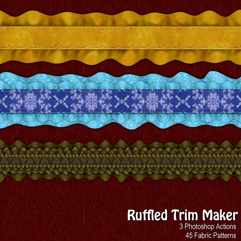 Ruffled Trims Maker