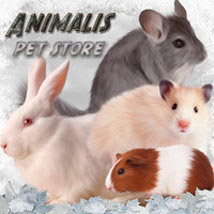 ANIMALIS - Pet Store 2D And/Or Merchant Resources Themed Animals ilona