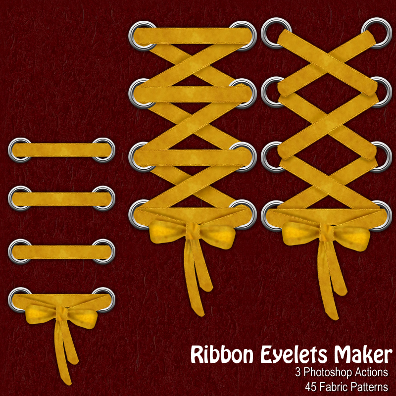 Ribbon Eyelets Maker