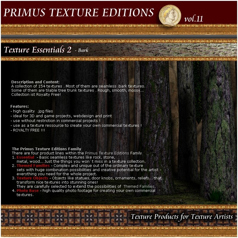 Primus Texture Editions vol. 11 - Essentials vol.2 - Bark