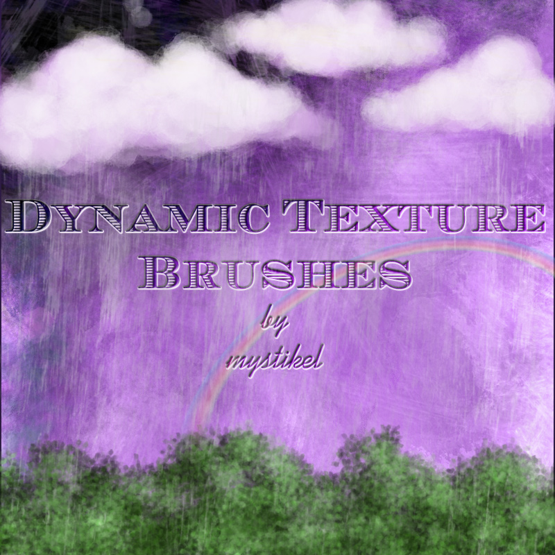 Dynamic Texture Brushes