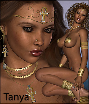 Tanya V4 Character & Clothing by RPublishing
