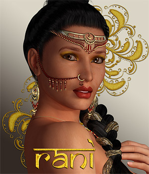 Rani for V4 3D Figure Assets 3D Models SaintFox