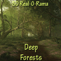 3D Real-O-Rama Deep Forests 3D Models gillbrooks