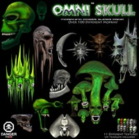 Omni Skull Super Prop Themed Props/Scenes/Architecture Poisen