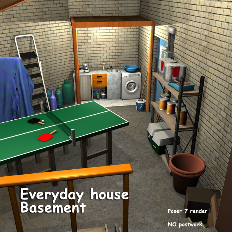 Everyday house - Basement