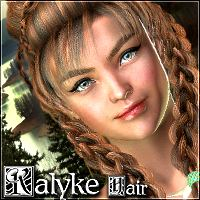 Kalyke Hair 3D Figure Essentials Mairy