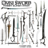 Omni Sword Super Prop 3D Models Poisen