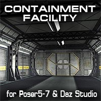 The Containment Facility 3D Models coflek-gnorg