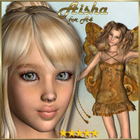 * Aisha A4 * 3D Figure Essentials LMDesign