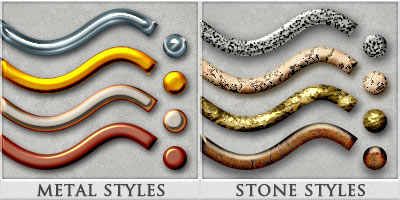 DW - Metal + Stone Styles - Duo Pack
