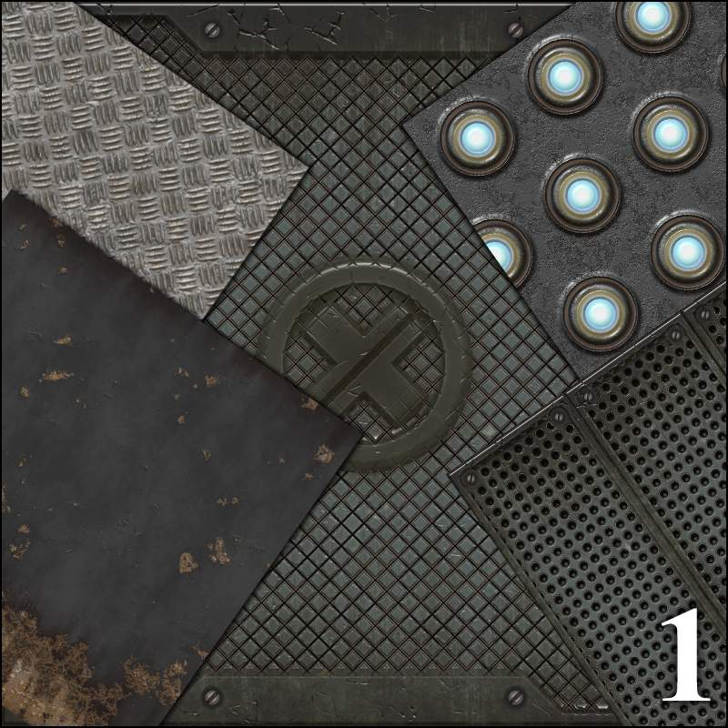 Seamless Textures Collection - Industrial