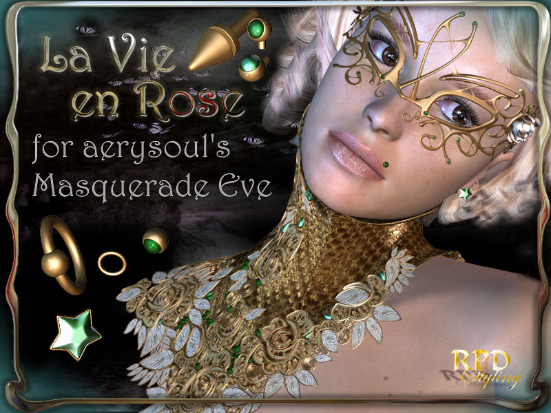 La Vie en Rose for AS-Masquerade Eve
