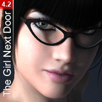 The Girl Next Door 4: Athletic 3D Figure Essentials Blackhearted
