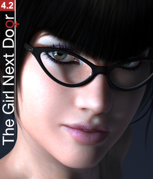 The Girl Next Door 4.2 3D Figure Essentials Blackhearted