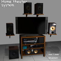 Home Theater system  greenpots