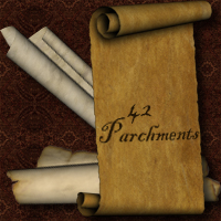 Parchments 3D Models 2D Graphics designfera