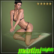 Martini Nights for V4 & A4 3D Figure Essentials Software 3D Models outoftouch