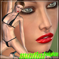 Martini Nights: Martini Bun Hair & Nadja for V4 -Dry & Wet-  outoftouch