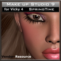 "Make up Studio 9  ""SpringTime"" 2D 3D Models kaiZ"