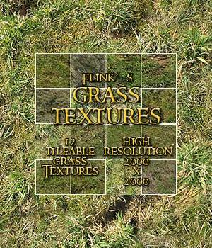 Flinks Grass Textures 3D Models 2D Flink