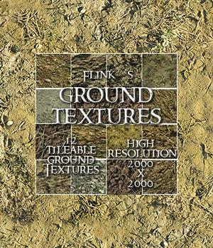 Flinks Ground Textures 3D Models 2D Flink