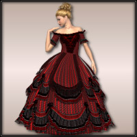 Dresses & Gowns Poses for V3/V4  wenke