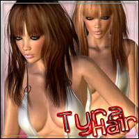 Tyra Hair 3D Figure Essentials outoftouch