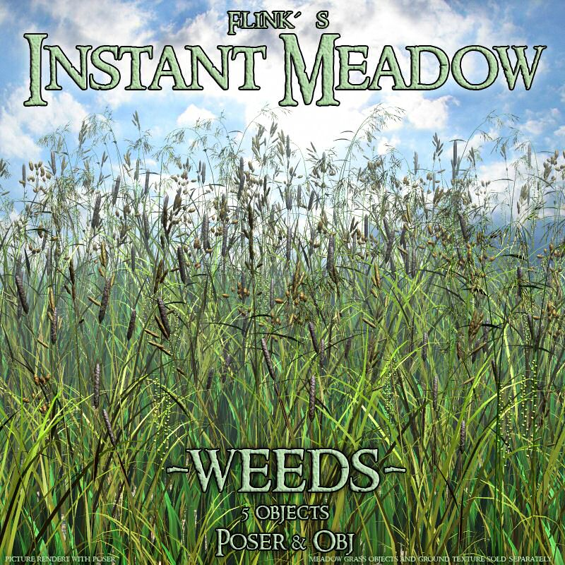 Flinks Instant Meadow - Weeds