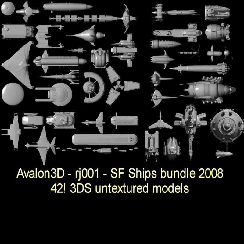 2008 SF SHIPS BUNDLE