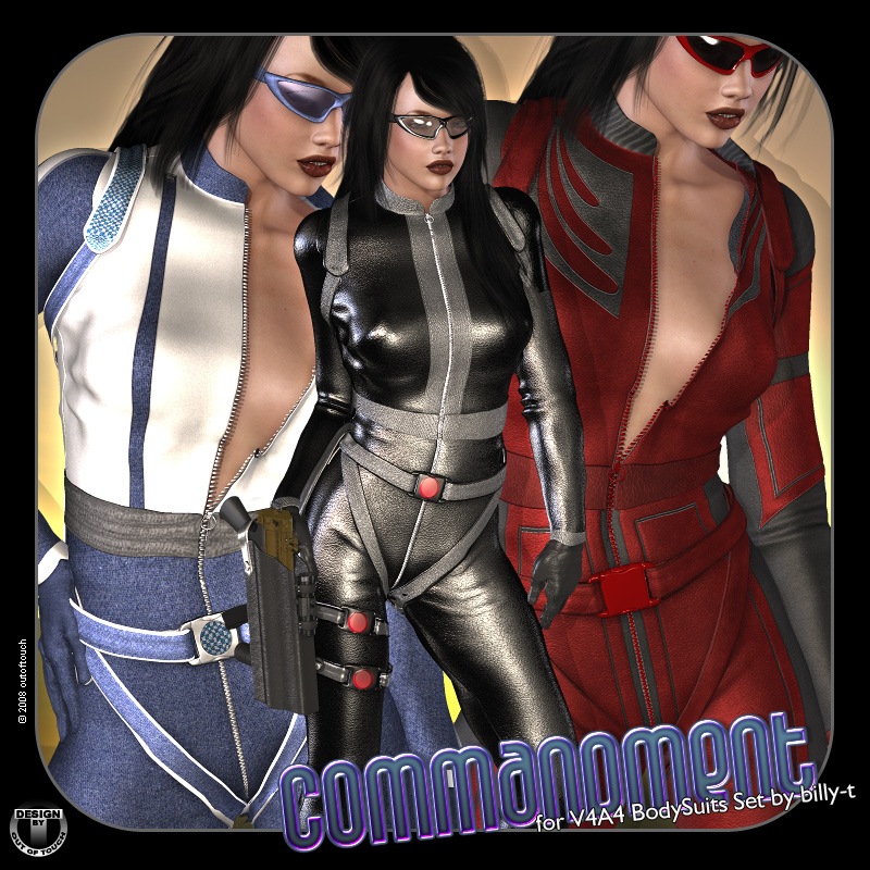 °Commandment° Textures for V4A4 BodySuits by billy-t