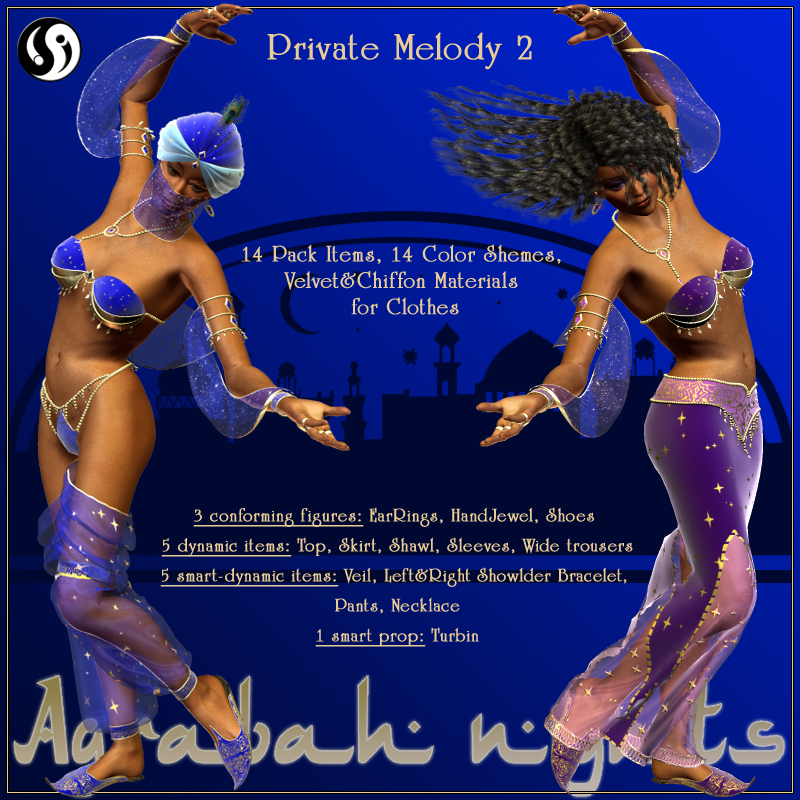 Agrabah Nights: Private Melody 2 V4-4.2