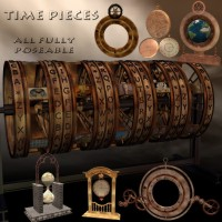 Time Pieces Props/Scenes/Architecture SAMS3D