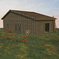 Old Barn Set 3D Models Richabri