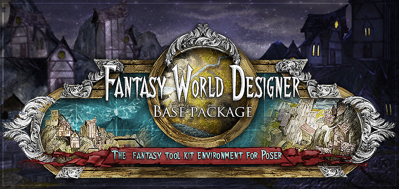 Fantasy World Designer - base pack