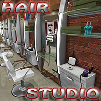 Hair Studio 3D Models PuzzWizz