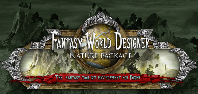 Fantasy World Designer - nature pack