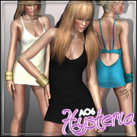 AO6: Hysteria for V4/A4 3D Figure Essentials outoftouch