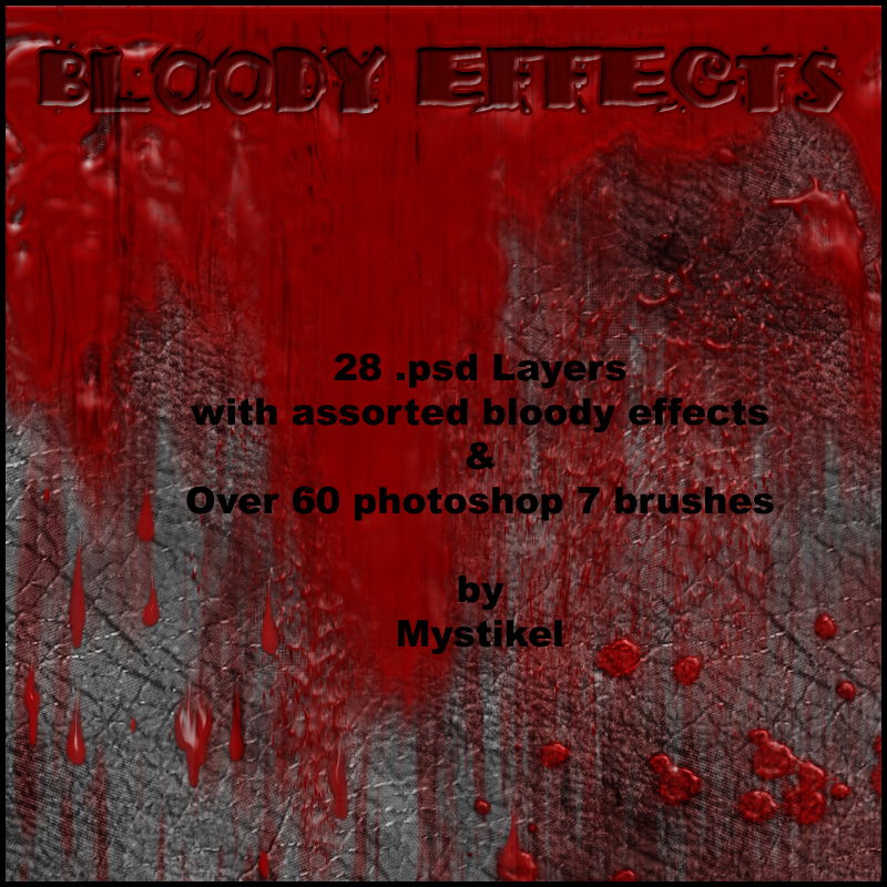 Bloody Effects by mystikel
