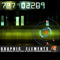 Graphic Elements 4 3D Models 2D Graphics designfera